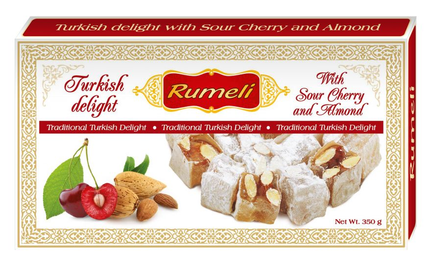 Turkish delight - Sour Cherry and Almond