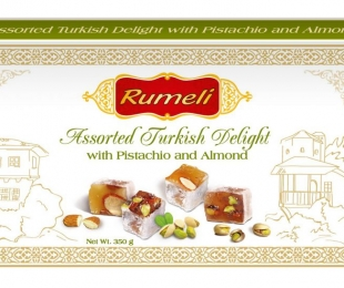 Turkish delight – Pistachio and Almond.