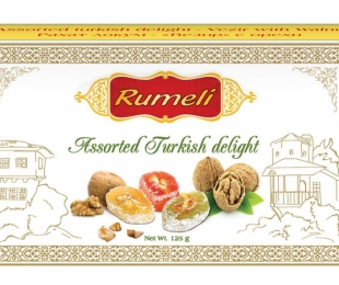 Assorted turkish delight - Vizier with Walnut