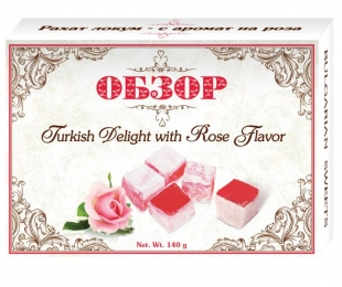 Turkish delight with Rose flavour