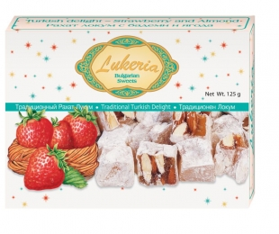 Assorted turkish delight - Strawberry and Almond
