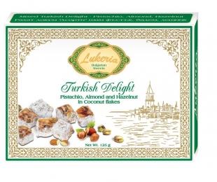 Тurkish delight - Pistachio, Almond, Hazelnut