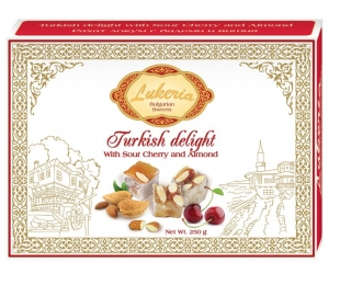 Assorted turkish delight - Sour Cherry and Almond