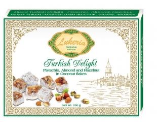 Turkish delight - Pistachio, Almond, Hazelnut